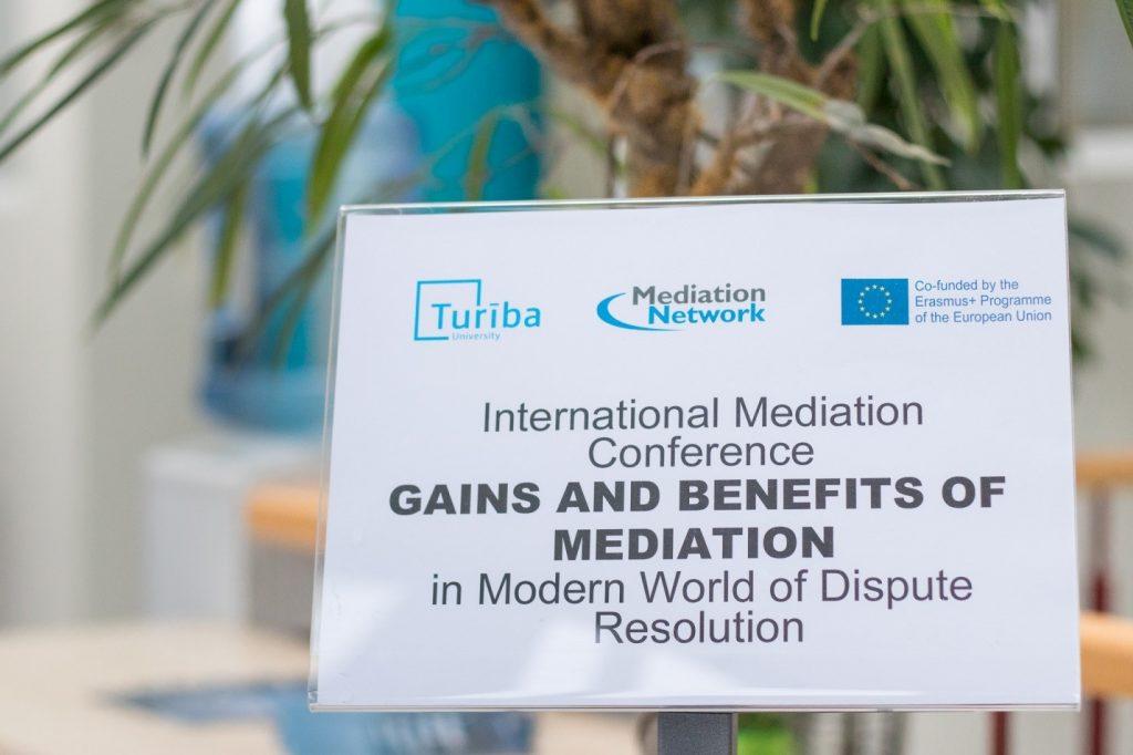Участие в международна конференция по медиация